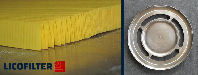 قطعات و مواد اولیه فیلتر - لیکوفیلتر