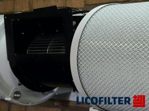 فیلتر تصفیه هوا برای محیطهای داخلی - لیکوفیلتر