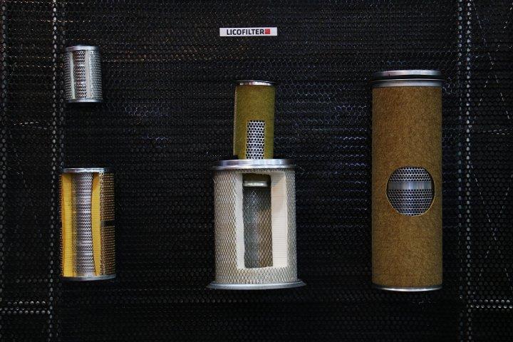 فیلترهای المنتی خودروهای سنگین - نمایشگاه قطعات خودرو
