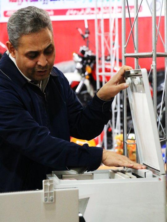 دستگاههای هوای پاک - واحد تحقیق و توسعه شرکت صنعتی لادن قزوین
